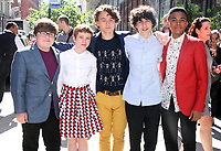 NEW YORK, NY August 30, 2017 Jeremy Ray Taylor, Sophia Lillis, Wyatt Oleff, Finn Wolfhard,Chosen Jacobs at Build  to talk  about new movie IT in New York August 30 2017.Credit:RW/MediaPunch