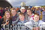 FESTIVAL: Eve Dowling, Rebecca and Ger Long with Danielle Brassil, Emer Kelly and Denis Dowling attending the the Atlantic Music Sessions Festival on Sunday in Ballybunion to see JEDWARD..