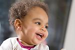 Europa, DEU, Deutschland, Baby, Kleinkind, Alter 10 Monate, Maedchen, Farbig, Lacht, Laechelt, Kategorien und Themen, Menschen, People, Kind, Kinder, Kindheit, Kindlich, ....[Fuer die Nutzung gelten die jeweils gueltigen Allgemeinen Liefer-und Geschaeftsbedingungen. Nutzung nur gegen Verwendungsmeldung und Nachweis. Download der AGB unter http://www.image-box.com oder werden auf Anfrage zugesendet. Freigabe ist vorher erforderlich. Jede Nutzung des Fotos ist honorarpflichtig gemaess derzeit gueltiger MFM Liste - Kontakt, Uwe Schmid-Fotografie, Duisburg, Tel. (+49).2065.677997, ..archiv@image-box.com, www.image-box.com]