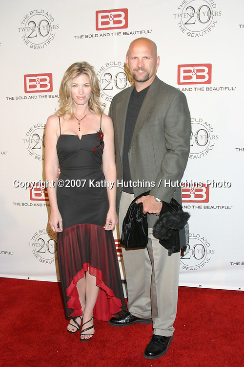 Tracy Melchior & husband.The Bold & The Beautiful 20th Anniversary Party.Two Rodeo Drive.Beverly Hills, CA.March 25, 2007.©2007 Kathy Hutchins / Hutchins Photo.