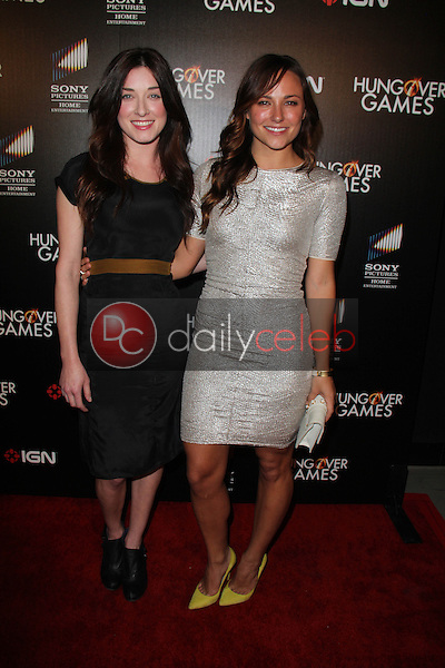 Margo Harshman, Briana Evigan<br /> at &quot;The Hungover Games&quot; Premiere, TCL Chinese 6, Hollywood, CA 02-11-14<br /> David Edwards/Dailyceleb.com 818-249-4998