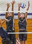 2015-09-18 HS: Vermont Commons School at Burlington High Boys Volleyball