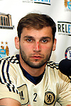 22 May 2013:  Branislav Ivanovic (2)(SRB) of Chelsea at a press conference.  Chelsea F.C. practice session in preparation for an exhibition match against Manchester City at Busch Stadium in Saint Louis, Missouri.