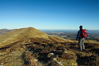Turnhouse Hill and Edinburgh from Carnethy Hill, The Pentland Hills, Lothian<br /> <br /> Copyright www.scottishhorizons.co.uk/Keith Fergus 2011 All Rights Reserved