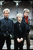 May 18, 1983: THE POLICE - Photocall at Roof Gardens in London