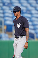 New York Yankees Luis Medina (30) during a Florida Instructional League game against the Philadelphia Phillies on October 12, 2018 at Spectrum Field in Clearwater, Florida.  (Mike Janes/Four Seam Images)