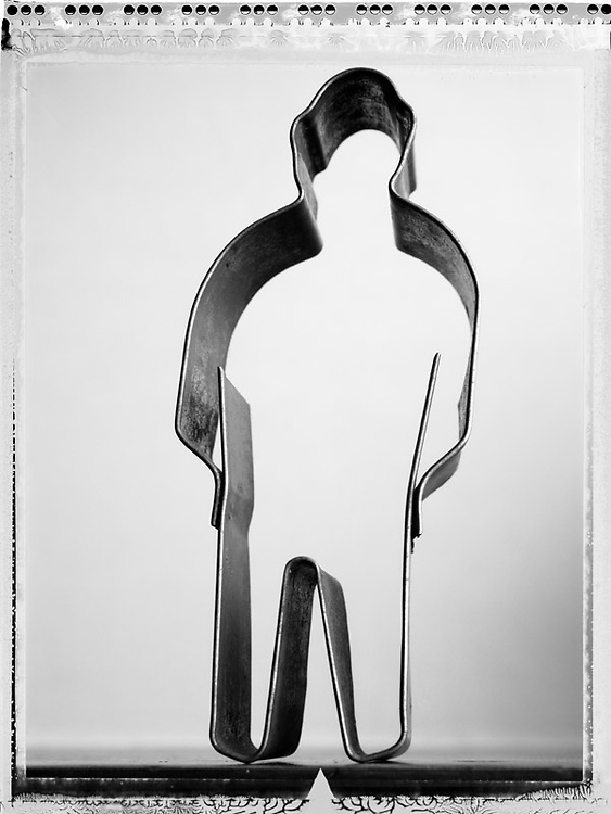 Untitled Effigy Number Two, 2004 (Cookie Cutter Man).