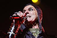 SÃO PAULO, SP, 04.10.2015 - SHOW-SP - O cantor Ney Matogrosso durante show no Citibank Hall na região sul da cidade de São Paulo na noite de ontem, 03. (Foto: Vanessa Carvalho/Brazil Photo Press)