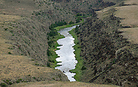 Rio Grande River, Taos County, New Mexico. June 2014