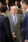 King Juan Carlos I of Spain during the National Sports Awards 2014. November 17, 2015. (ALTERPHOTOS/Acero)