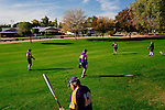 One of the 31 softball teams warms up before a game in Sun City, Arizona December 3, 2013. Sun City, Arizona was the first age-restricted city of retirees when it opened in 1960.