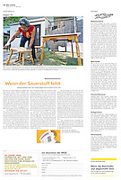 Die Wochenzeitung WOZ (Swiss weekly) on crisis-related civil activity in Hungary, part 7: NGO finds new homes for homeless, 2013.05.16. Photo: Martin Fejer