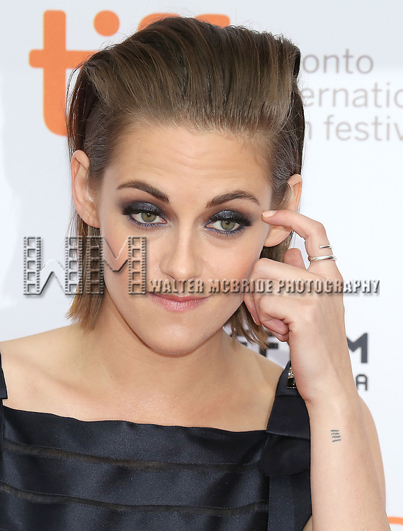 Kristen Stewart attends the 'Equals' premiere during the 2015 Toronto International Film Festival at the Princess of Wales Theatre on September 13, 2015 in Toronto, Canada.