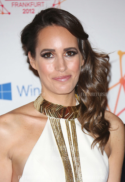 Louise Roe arriving for the The MTV EMA's 2012 held at Festhalle, Frankfurt, Germany. 11/11/2012 Picture by: Henry Harris / Featureflash
