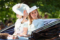 Princess Beatrice<br /> during Trooping the Colour on The Mall, London. <br /> <br /> <br /> &copy;Ash Knotek  D3283  17/06/2017
