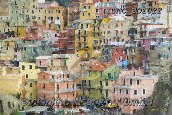 Marcello, LANDSCAPES, LANDSCHAFTEN, PAISAJES, paintings+++++,ITMCEO1022,#l#, EVERYDAY ,puzzles