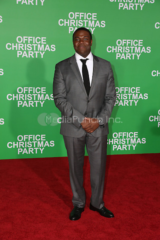 WESTWOOD, CA - DECEMBER 07: Sam Richardson arrives at the premiere of Paramount Pictures' 'Office Christmas Party' at Regency Village Theatre on December 7, 2016 in Westwood, California.  (Credit: Parisa Afsahi/MediaPunch).