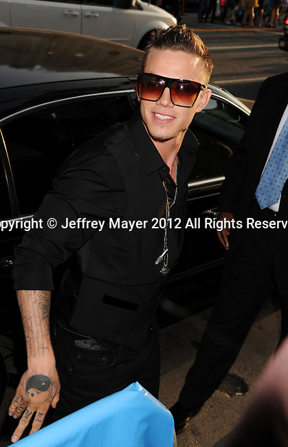 HOLLYWOOD, CA - SEPTEMBER 11: Chris Rene arrives at the 'The X Factor' Season 2 Premiere Party at Grauman's Chinese Theatre on September 11, 2012 in Hollywood, California.