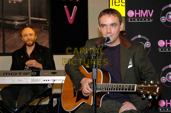 MY COMPUTER.HMV Digital In-Store gig at HMV, 150 Oxford Street..September 7th, 2005.half length band singing music guitar stage.www.capitalpictures.com.sales@capitalpictures.com.©Capital Pictures