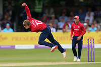 Neil Wagner in bowling action for Essex during Essex Eagles vs Notts Outlaws, Royal London One-Day Cup Semi-Final Cricket at The Cloudfm County Ground on 16th June 2017