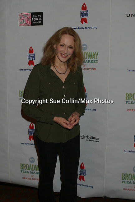 """One Life To Live Jan Maxwell """"Cindy"""" and AMC """"Judge Myatt"""" at The 26th Annual Broadway Flea Market and Grand Auction to benefit Broadway Cares/Equity Fights Aids on September 23, 2012 in Shubert Alley and Times Square, New York City, New York.  (Photo by Sue Coflin/Max Photos)"""