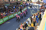 EF Education First in action during Stage 1 of La Vuelta 2019, a team time trial running 13.4km from Salinas de Torrevieja to Torrevieja, Spain. 24th August 2019.<br /> Picture: Ann Clarke | Cyclefile<br /> <br /> All photos usage must carry mandatory copyright credit (© Cyclefile | Ann Clarke)