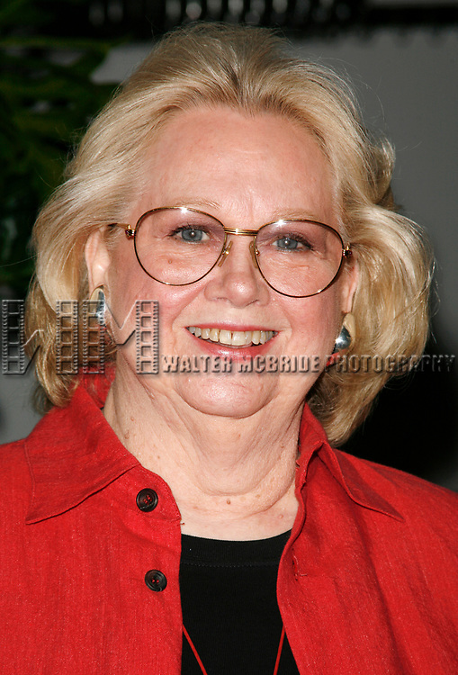 Barbara Cook attending the 2007 Theatre World Awards for Outstanding Broadway or Off-Broadway Debuts. Held at the World Stages Theatre in New York City. June 5, 2007