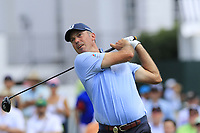 Matt Kuchar (USA) tees off the 1st tee during Friday's Round 2 of the 2017 PGA Championship held at Quail Hollow Golf Club, Charlotte, North Carolina, USA. 11th August 2017.<br /> Picture: Eoin Clarke | Golffile<br /> <br /> <br /> All photos usage must carry mandatory copyright credit (&copy; Golffile | Eoin Clarke)