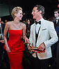 MATHEW MCCONAUGHEY AND  JENNIFER LAWRENCE<br /> backstage after winning the Oscar for a Performance by an actor in a Leading role for his role in &ldquo;Dallas Buyers Club&rdquo;, at the Annual Academy Awards, Dolby&reg; Theatre in Hollywood, Los Angeles_02/03/2014<br /> Mandatory Photo Credit: &copy;Harbaugh/Newspix International<br /> <br /> **ALL FEES PAYABLE TO: &quot;NEWSPIX INTERNATIONAL&quot;**<br /> <br /> PHOTO CREDIT MANDATORY!!: NEWSPIX INTERNATIONAL(Failure to credit will incur a surcharge of 100% of reproduction fees)<br /> <br /> IMMEDIATE CONFIRMATION OF USAGE REQUIRED:<br /> Newspix International, 31 Chinnery Hill, Bishop's Stortford, ENGLAND CM23 3PS<br /> Tel:+441279 324672  ; Fax: +441279656877<br /> Mobile:  0777568 1153<br /> e-mail: info@newspixinternational.co.uk