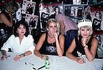 BANANARAMA Bananarama - Keren Woodward,<br /> Sara Dallin, Siobhan Fahey -In store appearance-  Sept 1986