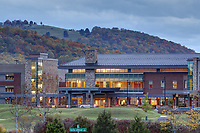 Scenic views of Sentara Martha Jefferson Hospital in Charlottesville, Va.  Photo/Andrew Shurtleff Photography, LLC