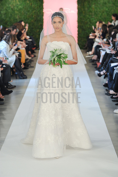 Oscar de la Renta, Bridal Fashion Week, Spring 2015