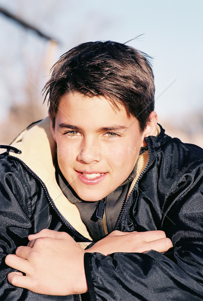Teenage Boy With Brown Hair And Green Eyes Rob Lang