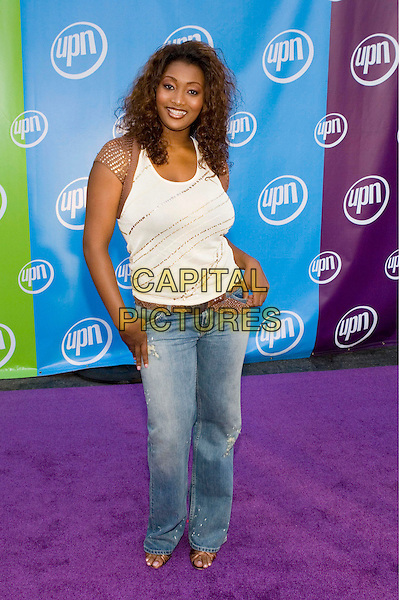 21 July 2005 - Los Angeles, California - Toccara Jones.  UPN Summer 2005 Press Tour Party Arrivals held at Paramount Studios.  Photo Credit: Zach Lipp/AdMedia