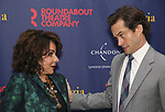 """Stockard Channing and Hugh Dancy attend the Broadway Opening Night Celebration for the Roundabout Theatre Company production of """"Apologia"""" on October 16, 2018 at the Laura Pels Theatre in New York City."""