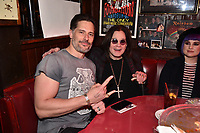 """HOLLYWOOD - FEBRUARY 20: Joe Manganiello attends Ozzy Osbourne global tattoo and album listening party to celebrate his new album """"Ordinary Man"""" on February 20, 2020 in Hollywood, California. (Photo by Lionel Hahn/Epic Records/PictureGroup)"""