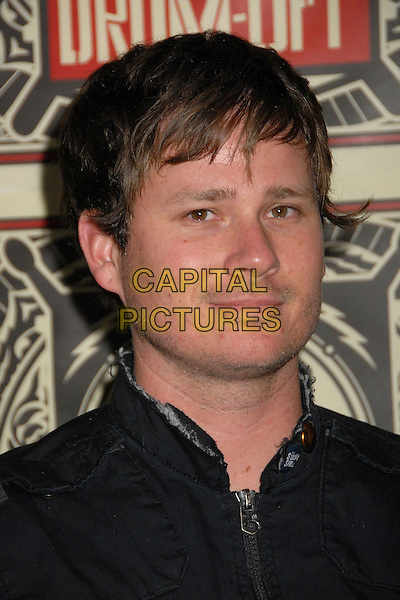 ANGELS AND AIRWAVES - Tom DeLonge.Guitar Center's 2008 Drum-Off Competition Finals at the Music Box Theatre, Hollywood, California, USA, .5 January 2008..portrait headshot.CAP/ADM/BP.©Byron Purvis/AdMedia/Capital Pictures.