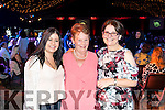 Pictured at the Austin Stacks Strictly Come Dancing held in the Dome, Tralee on Saturday night Emer Raymond, Helen Barrett and Angela Barbato, Tralee.
