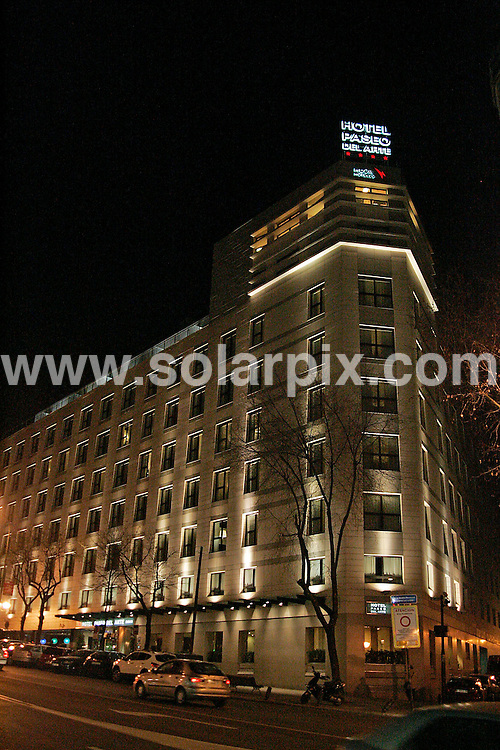 **ALL ROUND EXCLUSIVE PICTURES FROM SOLARPIX.COM**.**WORLDWIDE SYNDICATION RIGHTS**.Irish Minister Mary Hanafin arriving back to her Hotel in Madrid tonight accompanied by security and colleagues carrying some shopping bags...JOB REF:10523      SKX      DATE:  21.01.10.**MUST CREDIT SOLARPIX.COM OR DOUBLE FEE WILL BE CHARGED**.**MUST AGREE FEE BEFORE ONLINE USAGE**.**CALL US ON: +34 952 811 768 or LOW RATE FROM UK 0844 617 7637**