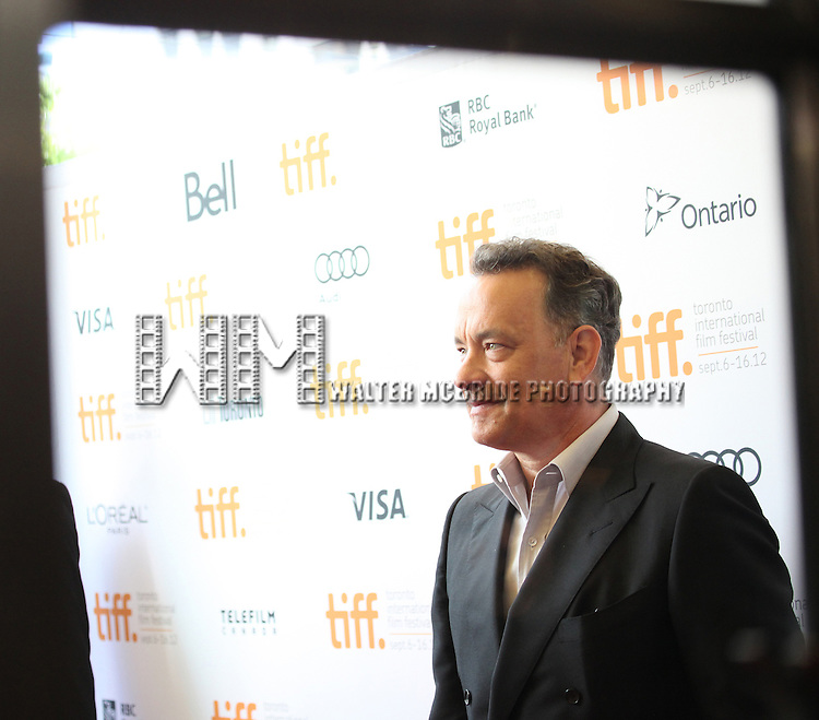 Tom Hanks attending the The 2012 Toronto International Film Festival.Red Carpet Arrivals for  'Cloud Atlas' at the Princess of Wales Theatre in Toronto on 9/8/2012