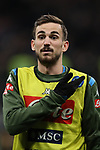 Fabian Ruiz of Napoli reacts during the Coppa Italia match at Giuseppe Meazza, Milan. Picture date: 12th February 2020. Picture credit should read: Jonathan Moscrop/Sportimage