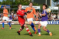 NIEUW BUINEN - Voetbal , Nieuw Buinen - FC Groningen, voorbereiding seizoen 2018-2019, 04-07-2018,   FC Groningen speler Ritsu Doan komt te laat