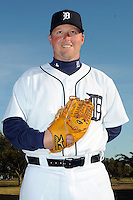 Feb 21, 2009; Lakeland, FL, USA; The Detroit Tigers pitcher Macay McBride (43) during photoday at Tigertown. Mandatory Credit: Tomasso De Rosa/ Four Seam Images
