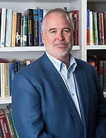 George M. Schmiedeshoff, Professor of Physics, July 7, 2009. For Occidental College faculty portraits. (Photo by Marc Campos, Occidental College Photographer)