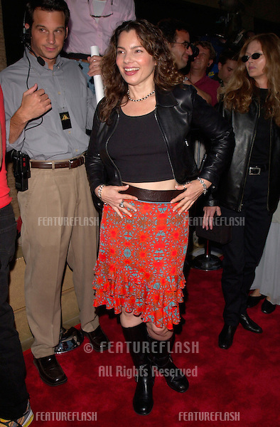 Actress FRAN DRESCHER at the world premiere, in Hollywood, of This Is Spinal Tap - the 1984 rockumentary in which she appeared.