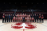 Stanford Basketball M Team Photo, September 18, 2018