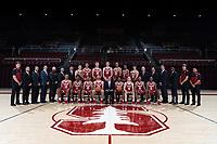 Stanford, Ca - September 18, 2018: Stanford Cardinal Men's Basketball Team.