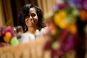 First Lady Michelle Obama attends the 2012 White House Correspondents Association Dinner held at the Washington Hilton Hotel in Washington, D.C. on Saturday, April 28, 2012. .Credit: Kristoffer Tripplaar  / Pool via CNP