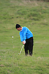 Day 3 of the 100th Irish PGA championship at Seapoint Golf Club, Co Louth..Neil Manchip playing for the 16th green.Picture Fran Caffrey/www.golffile.ie.