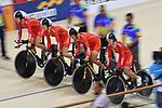 China team group (CHN), Ambience shot, <br /> AUGUST 28, 2018 - Cycling - Track : Women's Team Pursuit Final at Jakarta International Velodrome during the 2018 Jakarta Palembang Asian Games in Jakarta, Indonesia. <br /> (Photo by MATSUO.K/AFLO SPORT)